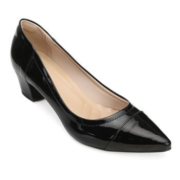 Scarpin Lady Queen AM18-41006-1150029 Verniz-Preto TAM 40 ao 44