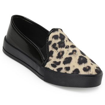 Slip On Laura Lívia LU19 -63411 Bege-Preto