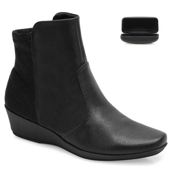 Bota Cano Curto Piccadilly e Case PD20-144047 Preto