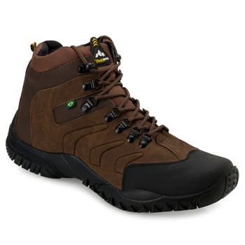 Bota Adventure West Line 4 2019 WL19 Preto-Marrom TAM 44 ao 50